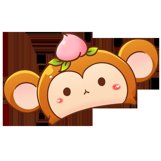 兔叽cos小猴子(装饰)